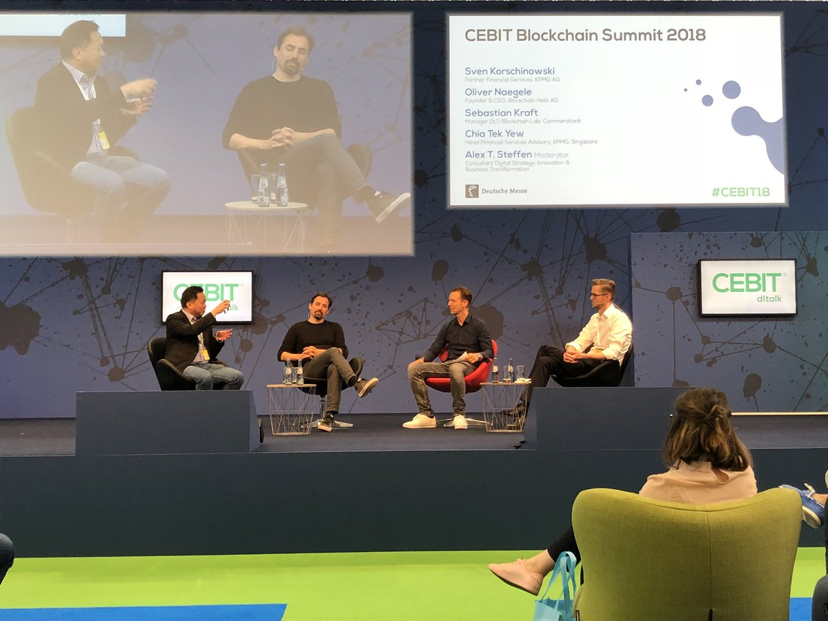 Debate at Cebit